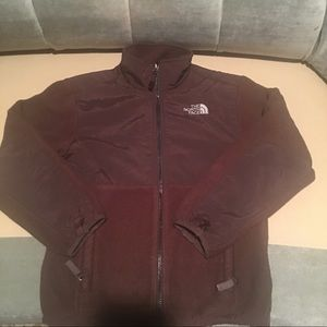 North Face Girls Brown Fleece Jacket/SZ M